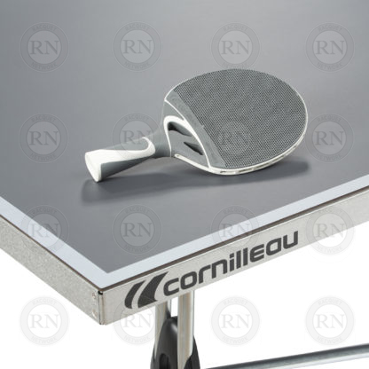 Illustration: Cornilleau 250S Outdoor Table Tennis Table Grey - Table Corner