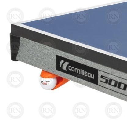 Illustration: Cornilleau 500 Indoor Table Tennis Table - Ball Dispenser