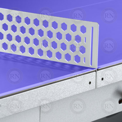 Illustration: Cornilleau 510M Crossover Table Tennis Table Blue - Steel Net