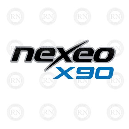 Cornilleau Nexeo X90 Carbon Table Tennis Paddle - Logo