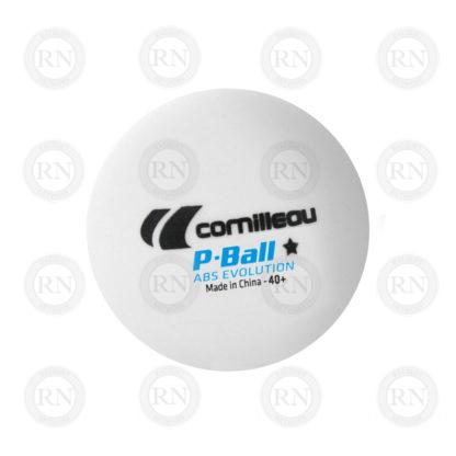 Illustration: Cornilleau P-Ball Evolution 1 Star Table Tennis Balls White