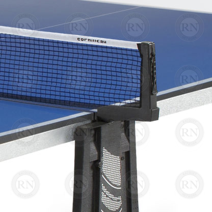 Illustration: Cornilleau Sport 250 Indoor Table Tennis Table Blue - Net