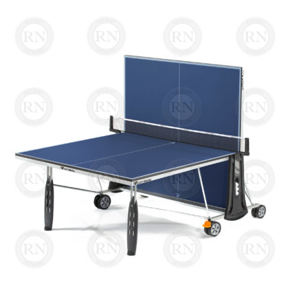 Illustration: Cornilleau Sport 250 Indoor Table Tennis Table Blue - Solo Game