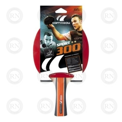 Product Knock Out: Cornilleau Sport 300 Table Tennis Paddle Packaging