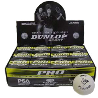 DUNLOP PRO GLASS COURT SQUASH BALL