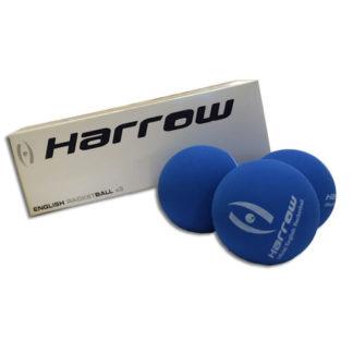 HARROW ENGLISH RACQUETBALLS 3 PACK