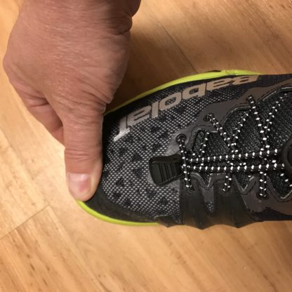 How should a pickleball shoe fit?