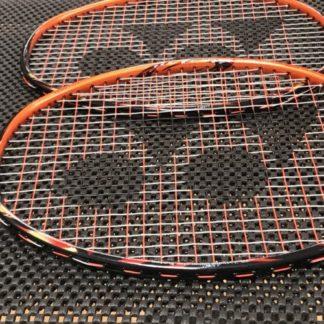 Closeup of a Yonex Astrox Badminton Racquet