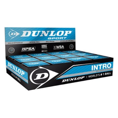 DUNLOP INTRO SQUASH BALL BOX