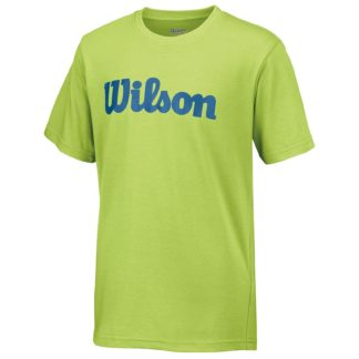 Junior Boys Wilson T-Shirt Green Glow