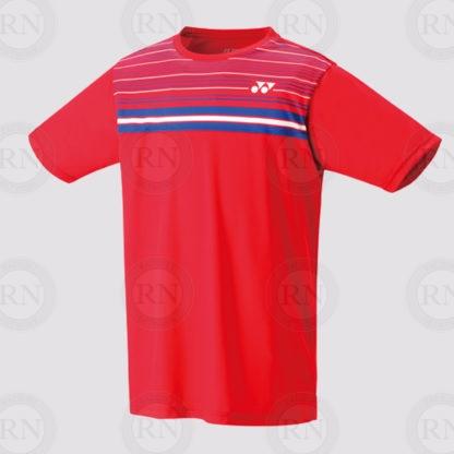 Yonex Replica Shirt 16349 Chong Wei Sunset Red Front