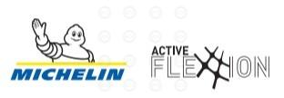 Logo for Michelin Active Flexion technology
