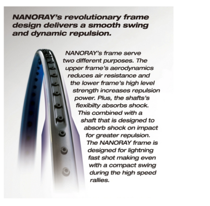 NANORAYS REVOLUTIONARY DESIGN INFOGRAPHIC