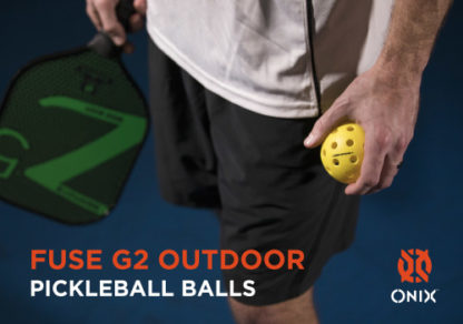 ONIX FUSE G2 OUTDOOR PICKLEBALL BALL