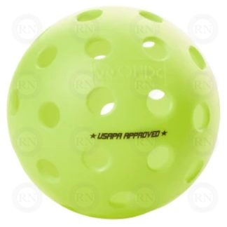 ONIX FUSE G2 OUTDOOR PICKLEBALL BALL NEON GREEN