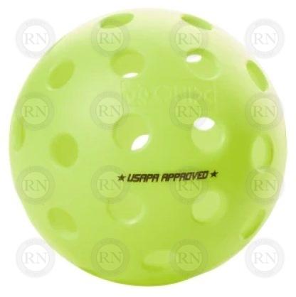ONIX FUSE G2 OUTDOOR PICKLEBALL BALL NEON GREEN