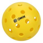 ONIX PURE 2 OUTDOOR PICKLEBALL BALL YELLOW