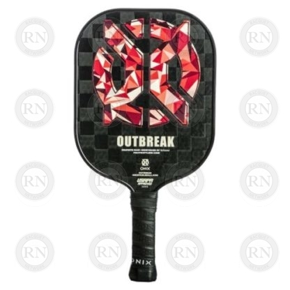 Product Knock Out: Onix Outbreak Pickleball Paddle - Red