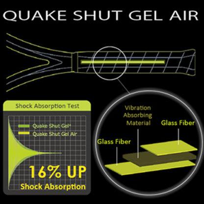 QUAKE SHUT GEL AIR TECHNOLOGY