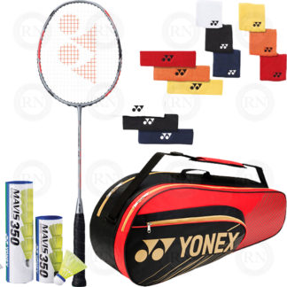 REC DOUBLES BADMINTON KIT