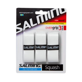 SALMING GRIP X3M ABSORB OVERGRIP WHITE