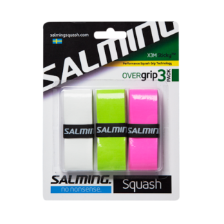 SALMING GRIP X3M STICKY OVERGRIP MIXED COLOUR