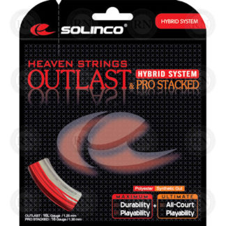 SOLINCO OUTLAST PRO-STACKED TENNIS STRING SET
