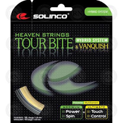 SOLINCO TOUR BITE VANQUISH TENNIS STRING SET