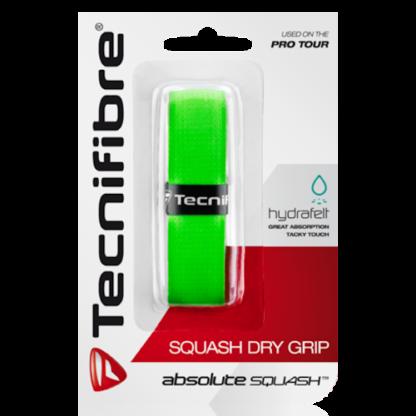 TECNIFIBRE SQUASH DRY GRIP GREEN