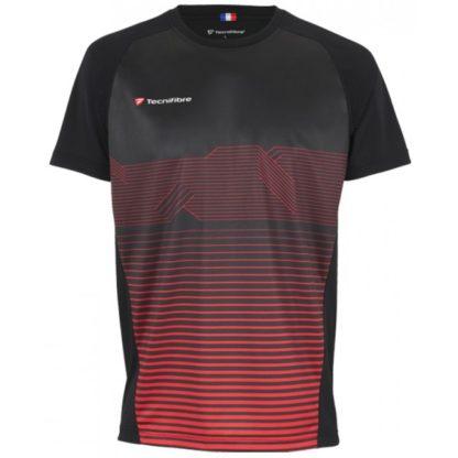 Technifibre F4 Laservent Black Jr Boys T-Shirt