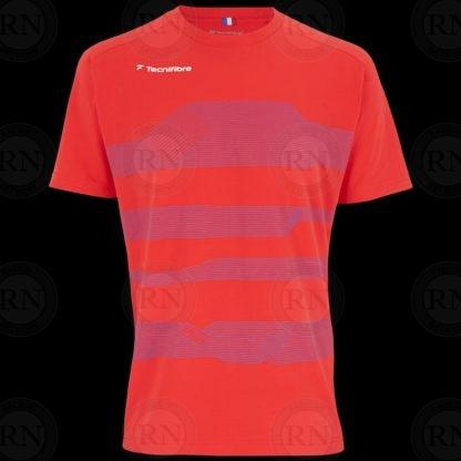 Tecnifibre F1 Stretch Mens Shirt Red