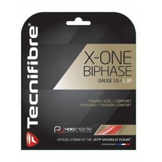Tecnifibre X-One Biphase Tennis String 16 Gauge Red
