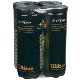US OPEN TENNIS BALLS 4 PACK