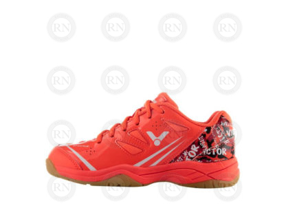 VICTOR A370JR BADMINTON SHOE CORAL INSIDE