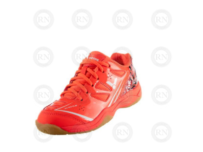 VICTOR A370JR BADMINTON SHOE CORAL OUTSIDE
