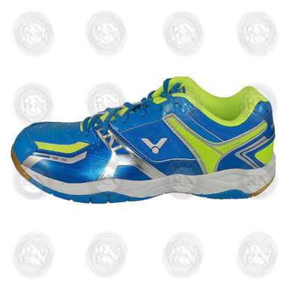 Product Knock Out: Victor AS3 Wide Badminton Shoe Blue Green Inner Aspect