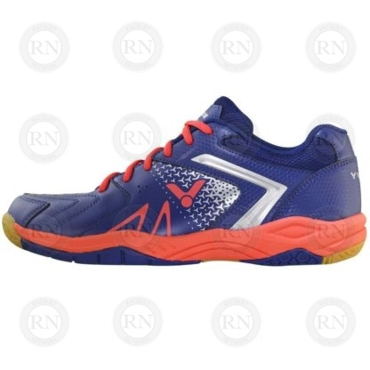Product Knock Out: Victor AS36 Extra-Wide Badminton Shoe Blue Orange Inner Aspect
