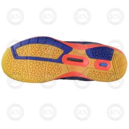 Product Knock Out: Victor AS36 Extra-Wide Badminton Shoe Blue Orange Sole
