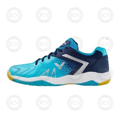 Product Knock Out: Victor AS36 Wide Badminton Shoe Baby Blue Inner Aspect