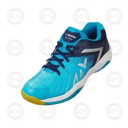Product Knock Out: Victor AS36 Wide Badminton Shoe Baby Blue Whole Shoe
