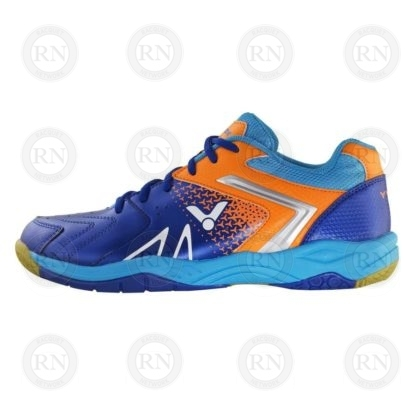Product Knock Out: Victor AS36 Wide Badminton Shoe Blue Orange Inner Aspect