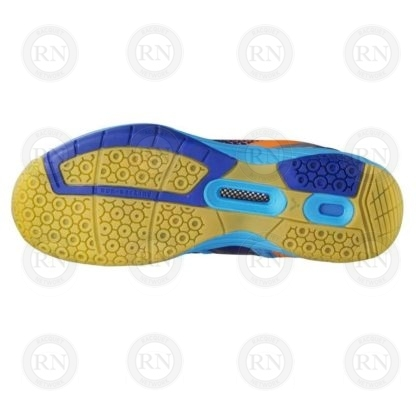 Product Knock Out: Victor AS36 Wide Badminton Shoe Blue Orange Sole