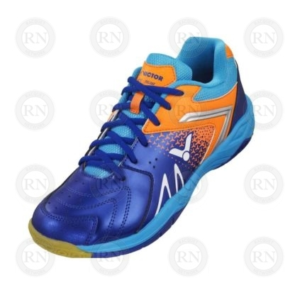 Product Knock Out: Victor AS36 Wide Badminton Shoe Blue Orange Whole Shoe