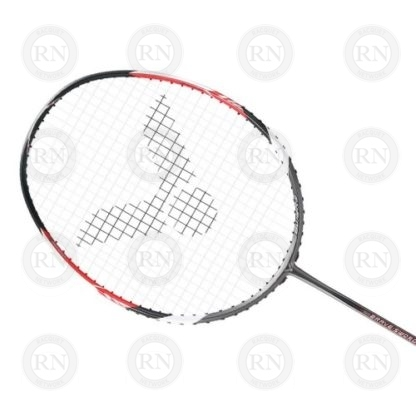 Product Knock Out of Victor Bravesword 12 Badminton Racquet Grey-Red Head