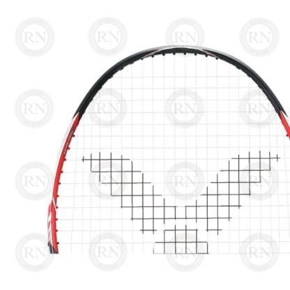 Product Knock Out of Victor Bravesword 12 Badminton Racquet Grey-Red Loop