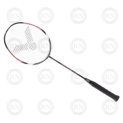 Product Knockout of Victor Bravesword 12 Badminton Racquet Grey-Red Whole Racquet