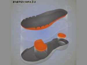 Illustration: Victor Energy Max 3.0 Shoe Technology