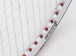 Illustration of Victor Shockless Badminton Racquet Technology