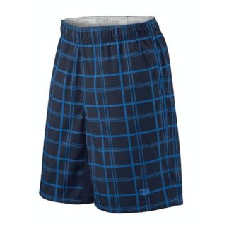 WILSON 10 PLAID SHORT NAVY
