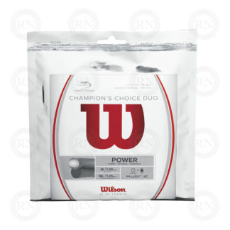 WILSON CHAMPIONS CHOICE 16 DUO TENNIS STRING SET
